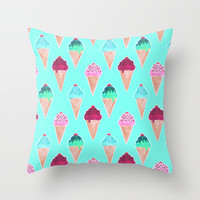 The Cherry on Top Throw Pillow by Tangerine-Tane