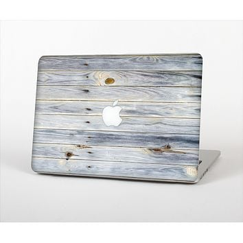The Light Tinted Wooden Planks Skin Set for the Apple MacBook Air 13""