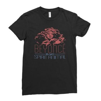beyonce is my spirit animal Ladies Fitted T-Shirt