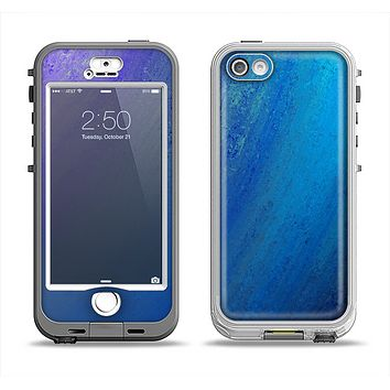 The Pastel Blue Surface Apple iPhone 5-5s LifeProof Nuud Case Skin Set