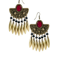 New Look | New Look Fan Spike Earring at ASOS