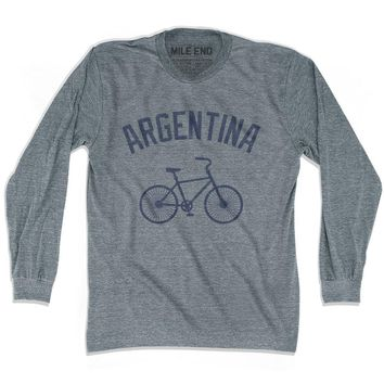 Argentina Vintage Bike T-shirt Long Sleeve T-shirt