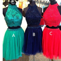Short homecoming dress S062