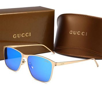 VONEYW7 gucci rectangle texture fashion man and woman sunglasses l hwymsh yj
