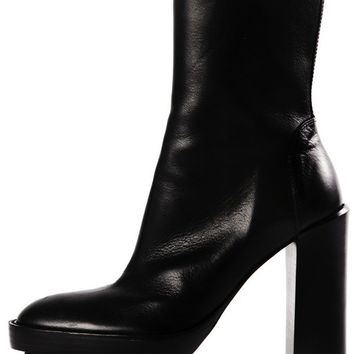 ANN DEMEULEMEESTER - Heeled Leather Boot - 142-2840-296-099 - H. Lorenzo