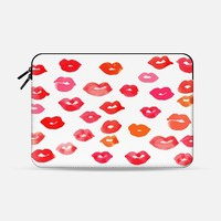 "Le Baiser Macbook 12"" sleeve by Rebecca Allen 