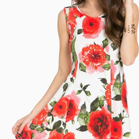 Picking Petals Skater Dress