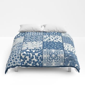 Tile Patchwork Comforters by Eileen Paulino