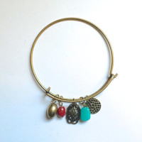 Bohemian Charms Bangle *Alex and Ani Inspired* *PRE-ORDER*