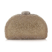 Diamond Shell Evening Bag