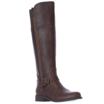 G by GUESS Hailee Riding Boots, Dark Brown, 7.5 US