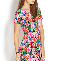 High Wattage Floral Dress