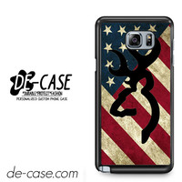 Browning Deer Camo America Flag For Samsung Galaxy Note 5 Case Phone Case Gift Present