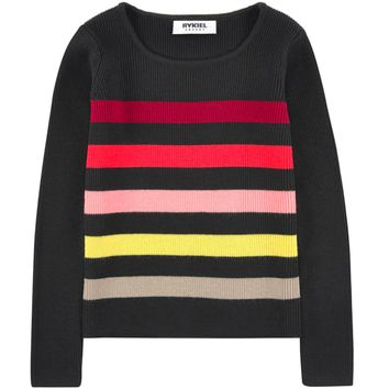 Sonia Rykiel Girls Colorful Striped Sweater