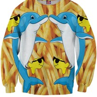 Dolphins and Fries Sweatshirt