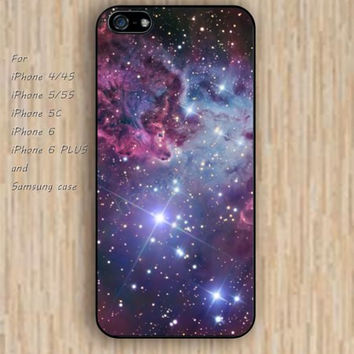 iPhone 5s 6 case colorful nebula fox pattern dream phone case iphone case,ipod case,samsung galaxy case available plastic rubber case waterproof B725