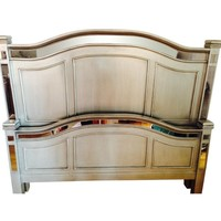 Pier 1 Hayworth Queen Headboard and Footboard in S