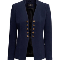Jacket without Lapels - from H&M