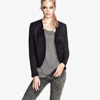 H&M - Short Jacket - Black - Ladies