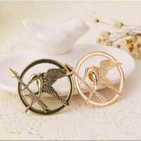 Free Shipping Hunger Games ridicule bird punk style brooch #3021 P1