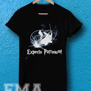 expecto patronum pikacu ,T shirt for women and men