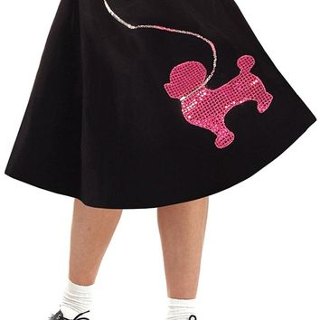 Poodle Skirt 50'S Costume - Child Medium