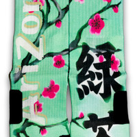 Arizona Green Tea Custom Elite Socks