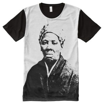 HARRIET TUBMAN All-Over PRINT T-SHIRT