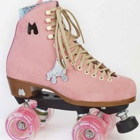 Moxi Pink Strawberry Outdoor Roller Skates - Square Cat Skates