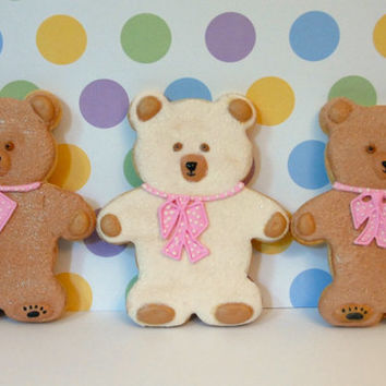 TEDDY BEAR Sugar Cookies