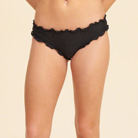 Girls Ruffle Cheeky Swim Bottom | Girls Swim | HollisterCo.com