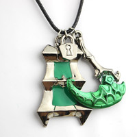 League Of Legends Thresh Weapon and Lantern necklace