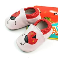 Leather Baby Infant Handcrafts Shoes [4919351108]