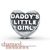Charmed Memories Daddy's Little Girl Charm Sterling Silver