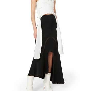 Orbit Asymmetrical Midi Skirt