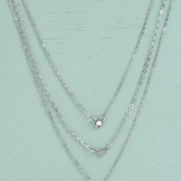 Kayla Coin And Gem Layered Necklace