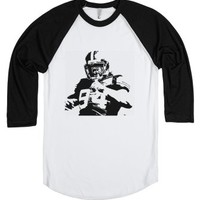 Football-Unisex White/Black T-Shirt