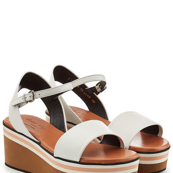 Leather Sandals - Robert Clergerie | WOMEN | US STYLEBOP.COM