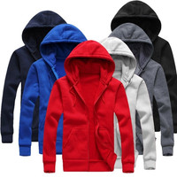 Sweatshirt Jacket Mens Womens Hoodies Coat Unisex Sweaters Autumn Korean  F_F
