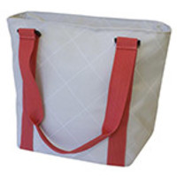 """Bentology Insulated Lunch Tote Argyle 12"""" x 10"""" x 3"""""""