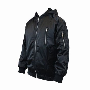 Everett Bomber Jacket (Black)