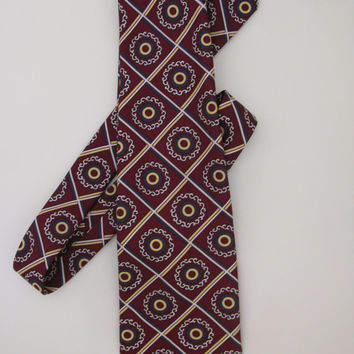 VIntage Necktie - Austin Reed - Mens neckties - 1960s - Sixties - Kipper tie - Mens accessories - Neckties and Cravats - Mens vintage
