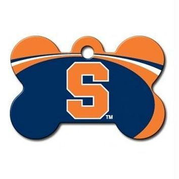 Syracuse Orange Bone ID Tag