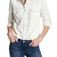 French Connection | Classic Western Long Sleeve Shirt | HauteLook