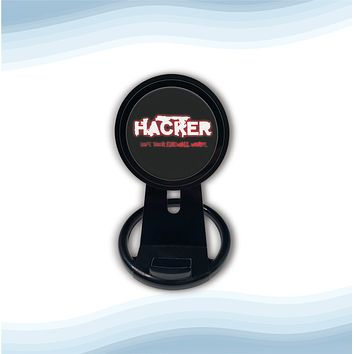 Hacker Firewall Universal Wireless Charger with Bult in Stand