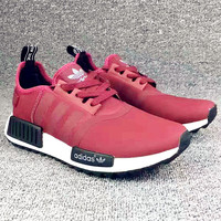 """Adidas"" Women Fashion Trending Running Sports NMD Shoes Red"