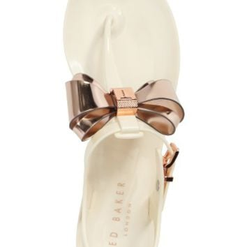 Ted Baker London Ainda Slingback Bow Sandal (Women) | Nordstrom