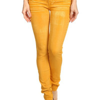 No Apologies High Waisted Jeans - Gold
