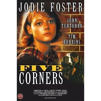 1987 JODIE FOSTER five corners movie poster 24X36 NEW YORK 1960s HOT rare