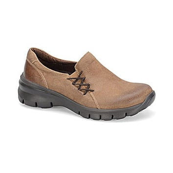 Montana Eagle Slip-On Shoes - Twine Tan